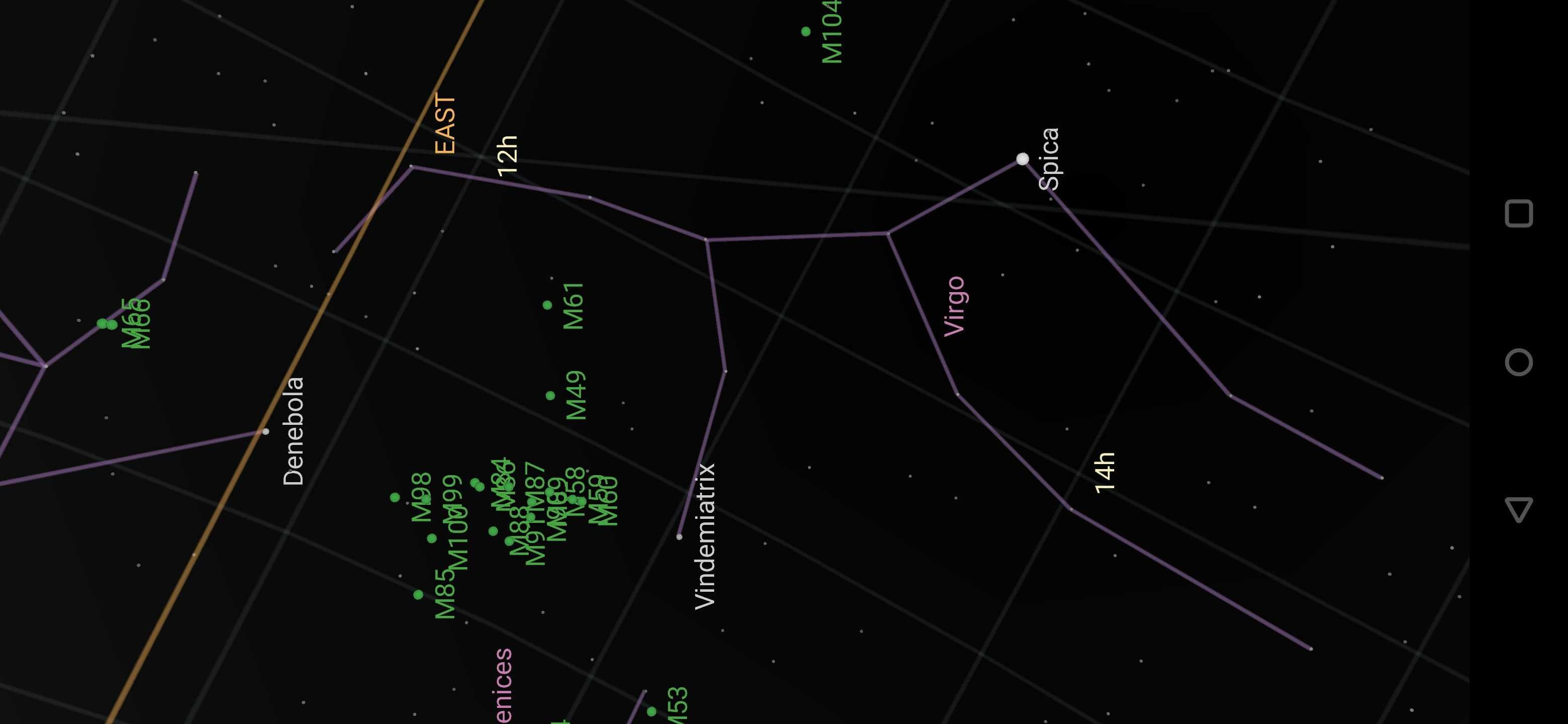 Constelaţia Fecioarei