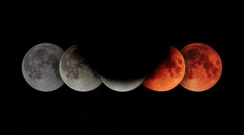 eclipsa de luna 5 iunie in sagetator