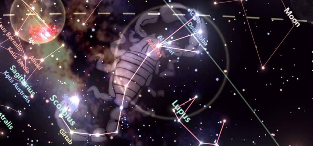 zodia scorpion perioada