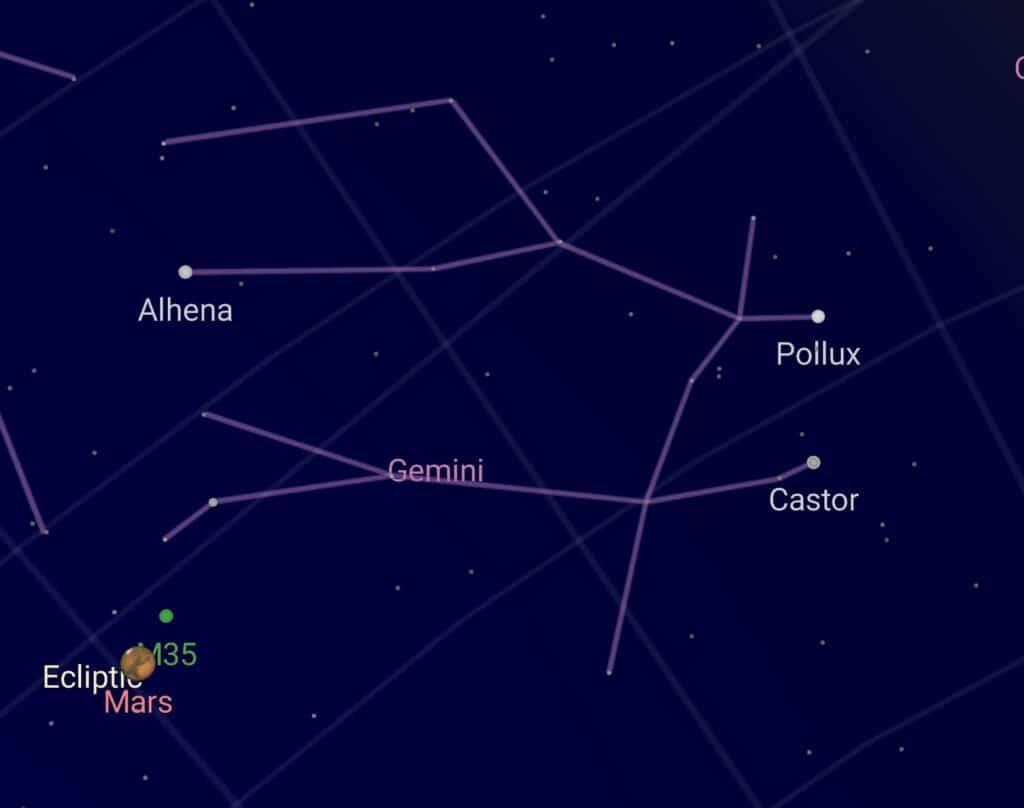 Zodia Gemeni . Constelaţia Gemenilor